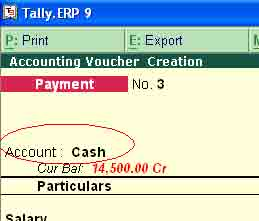 Compound voucher entry & narration for each entry in tally