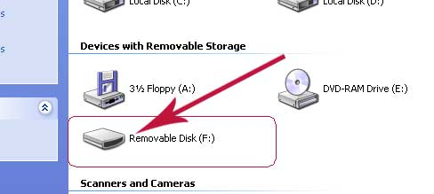 pen drive in my computer