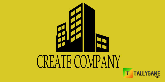 How to create company in tally ERP9