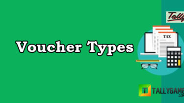Voucher types in tally erp 9