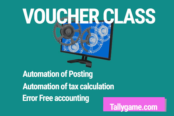 Voucher Class in Tally ERP9. How to enable voucher class in sales invoice?
