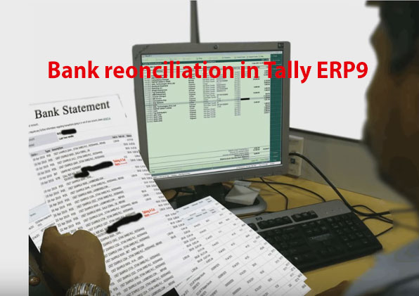Bank reconciliation in Tally ERP9 – Manual reconciliation