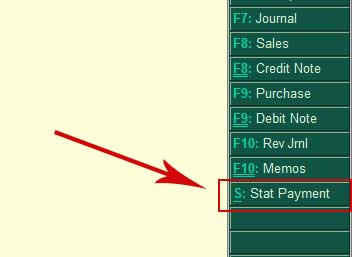 Stat Payment Button