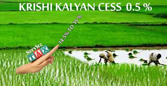Krishi Kalyan Cess In Tally ERP 9