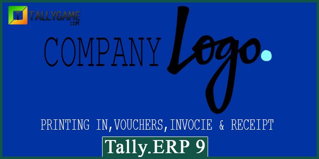 How to print company logo in invoice of Tally ERP 9