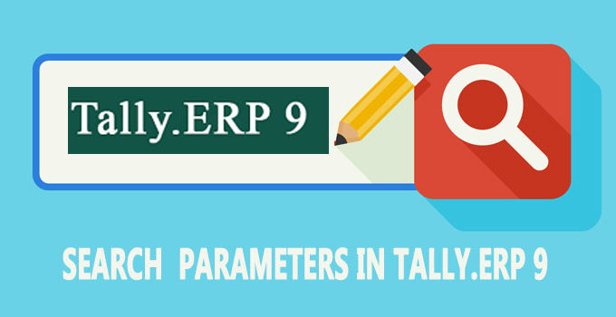 How to search in Tally ERP 9 for anything?