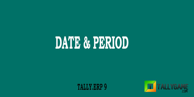 How to change Voucher date and current Period In Tally ERP 9