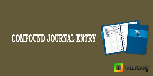 compound journal entry example