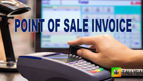 Point of sale Invoice