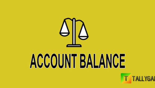 What is account balance