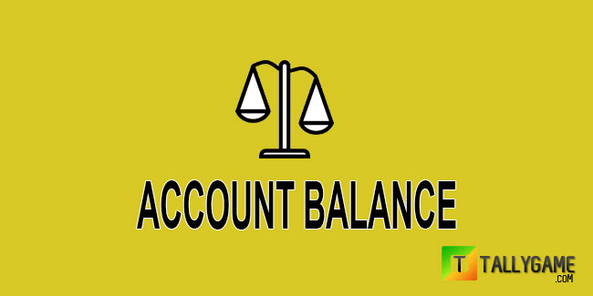 What is an Account Balance ?