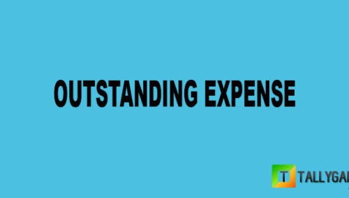 Outstanding expense