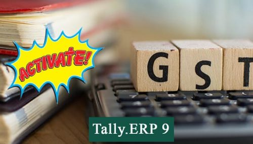 how to activate gst in tally erp 9