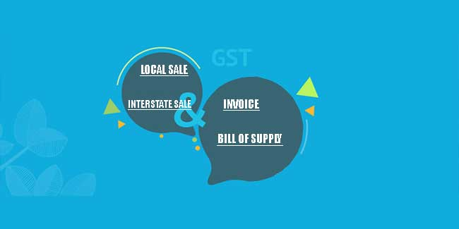 How to enter GST sales entry Local,Interstate sale & print GST sale invoice ?