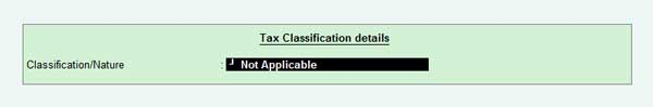 Tax classification for interstate stock transfer